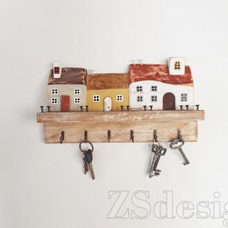 """Ключница """"Тихий Виборк"""" - Ключниця настінна"""