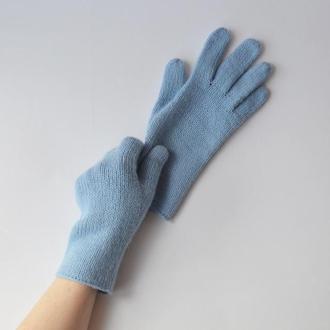 Женские вязаные перчатки из кашемира, ангоры и мериноса. Теплые зимние перчатки