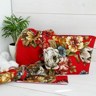 Набор проектных сумок для вязания, органайзер для спиц, подарок для вязальщицы