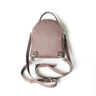 Женский нежный рюкзак