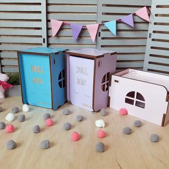 Карманный домик для куклы ЛОЛ