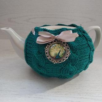 Заварочный чайник в свитерочке