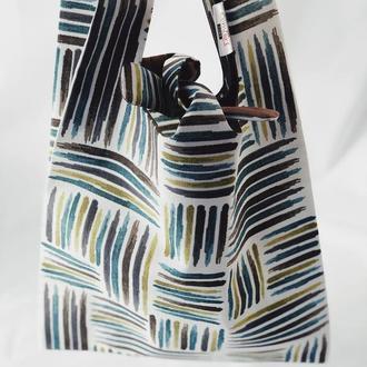 Тканевая сумка, эко-сумка. Сумка для покупок, шоппер, авоська, торба.