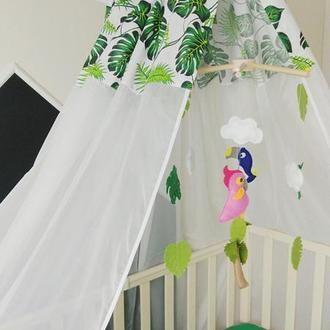 Балдахин в кроватку Tropical
