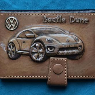 """Обложка для водительских прав """"Volkswagen Beetle Dune"""""""