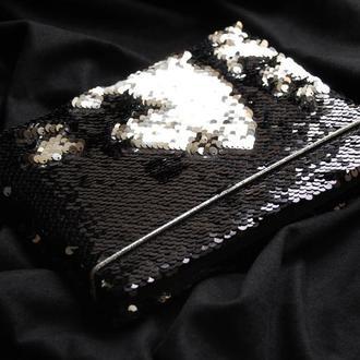 Блокнот с черными листами «Shine» (подарок девушке)