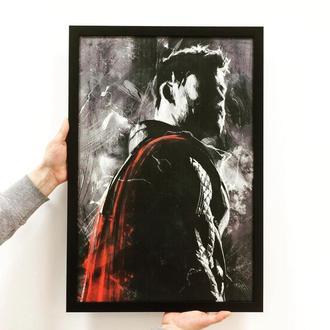 "Постер на ПВХ 3 мм. в рамке ""Тор"" (Thor)"