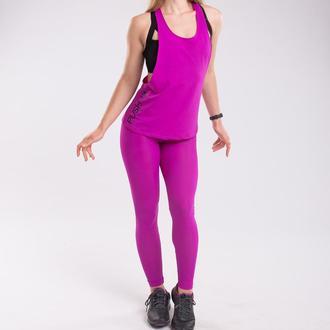 Комплект Set Purple Bend спортивный: лосины + майка Push it