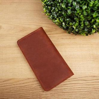 Портмоне Twist, кожаный портмоне, мужской портмоне, портмоне с гравировкой, подарок мужчине