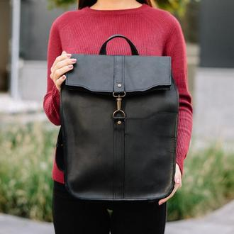 Рюкзак Hanby, повседневный рюкзак, рюкзак из кожи, кожаный рюкзак