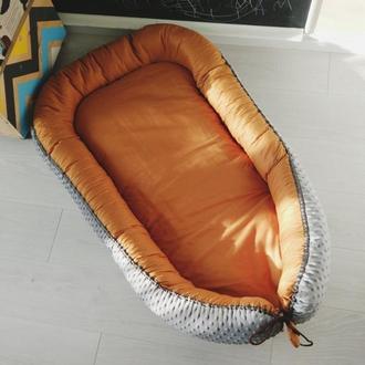 Гнездышко для новорожденного (кокон, бебинест) Rustic