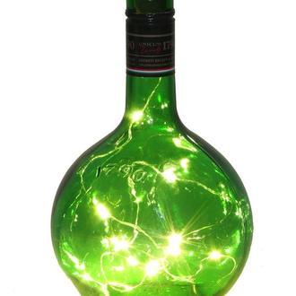 Светильник бутылка подарок сувенир декор для дома