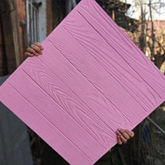 Деревянный фотофон Розовый фактурный