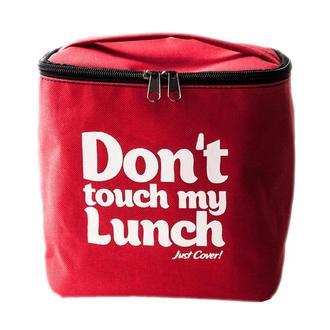 "Термо-сумка для ланча ""Ланч бэг ""Don't touch my lunch"", красный maxi"