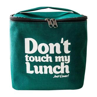 "Термо-сумка для ланча ""Ланч-бэг ""Don't touch my lunch"", зеленый maxi"