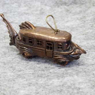 """Игрушка-сувенир """"Трамвайчик"""""""