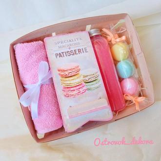 """Подарочный набор """"Macarons"""", подарок для девушки"""