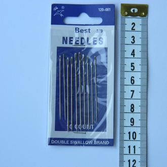 081 Иглы ручные NEEDLES (Иголки для ручного шитья)