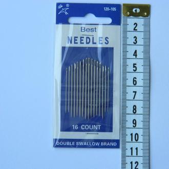 Х105 Иглы ручные NEEDLES (Иголки для ручного шитья)
