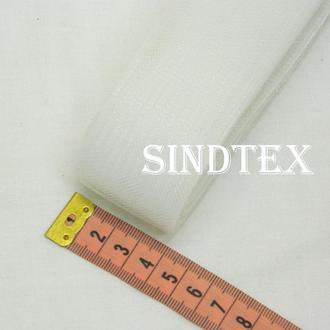 23м.Регилин (кринолин) 40мм (02-белый)