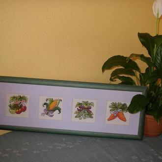 """Картина """" Овощи из грядки"""""""