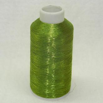 3067 Нитки металлизированные вышивальные 120/2 полиэстер ТМ Nitex (5000ярдов)
