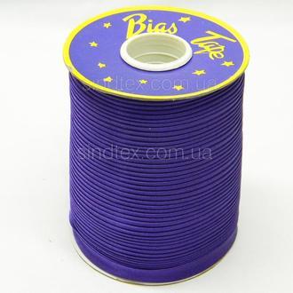 3129 Косая бейка атласная (фиолетовый)