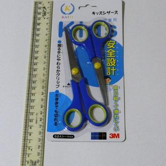 12-Набор ножниц с синей ручкой 2 шт.