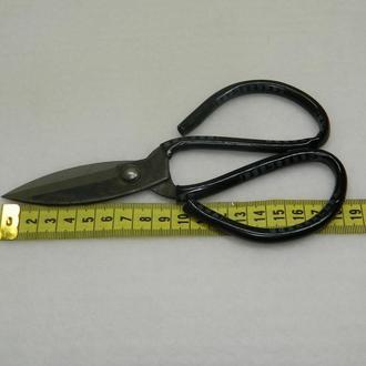 26-Ножницы портновские 19см с большими ручками, черные