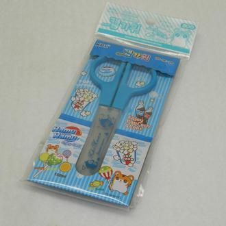 33-Ножницы 150мм с голубыми ручками, в упаковке