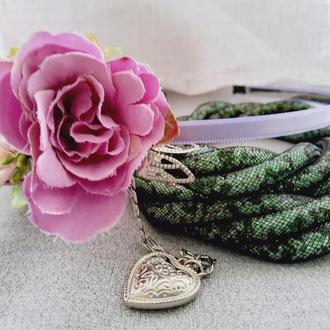 Веночек /ободок из искусственных цветов на голову  №21