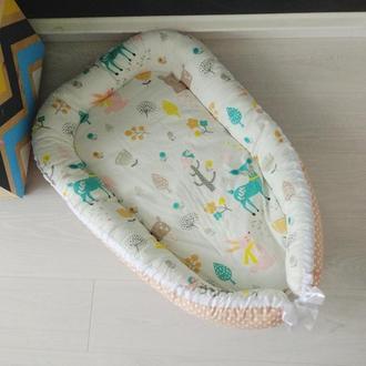 Гнездышко для новорожденного (кокон, бебинест) Forest