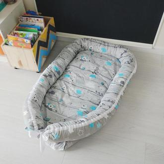Кокон для ребенка (гнездышко, бебинест) Bears&Stars