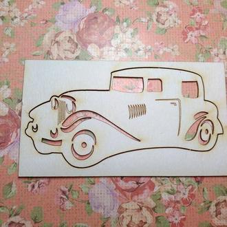 Чипборд ′Ретро авто′