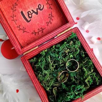 Красная коробка Love