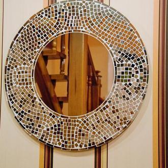 Зеркало ручной работы.