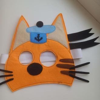 Маска Коржик ( три кота )