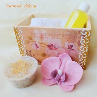 """Подарочный набор """"Орхидея"""", подарок маме, коллеге, подруге"""