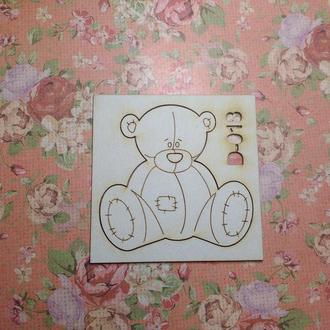Чипборд ′Мишка′