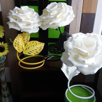 Светильник - роза из изолона