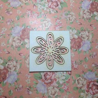 Чипборд ′Цветочек №2′