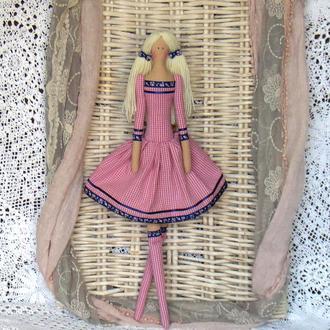 Кукла в стиле Тильда Вивьен 48см ВНИМАНИЕ БОНУС !!!
