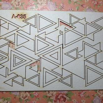 Чипборд ′Геометрический набор №2′