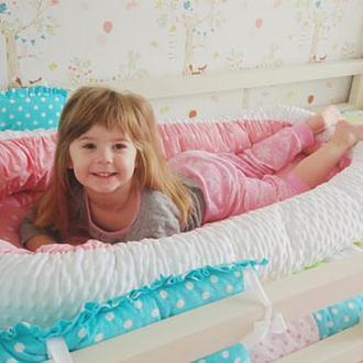 Кокон для ребенка (гнездышко, бебинест) Pink Hearts
