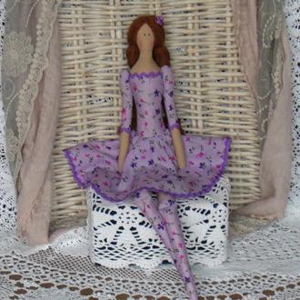 Кукла в стиле Тильда Ванесса 48см
