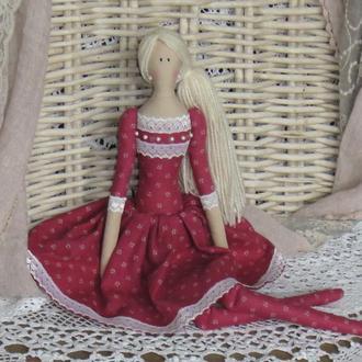 Кукла в стиле Тильда Линда 48см ВНИМАНИЕ БОНУС !!!