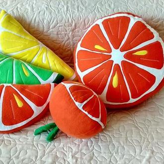 Апельсин мандарин сладкая подушка