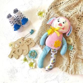 Свинка. Текстильная игрушка. Игрушка малышу.