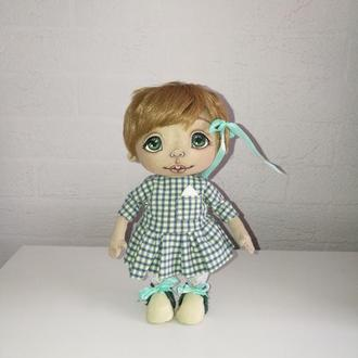 "Текстильная интерьерная кукла ""Алёнка"""