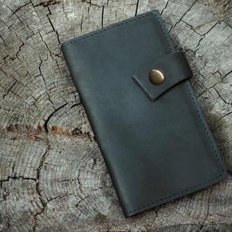 Портмоне из натуральной кожи, кожаное портмоне, подарок для женщины